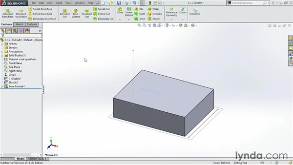 Working with planes: SOLIDWORKS 2014 Essential Training