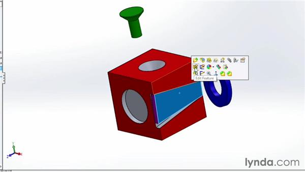 Mating parts together in an assembly: SOLIDWORKS 2014 Essential Training