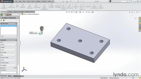 Using Toolbox: SOLIDWORKS 2014 Essential Training