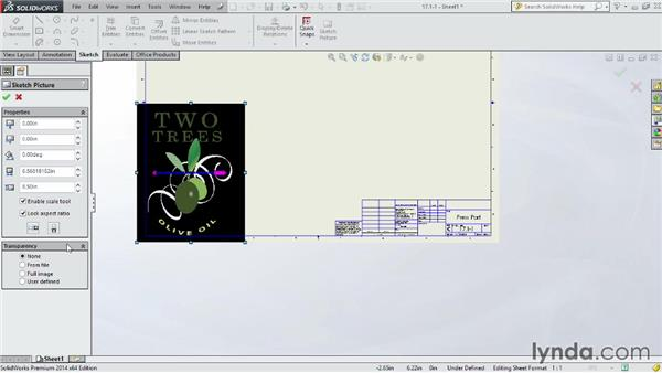 Working with drawing templates: SOLIDWORKS 2014 Essential Training