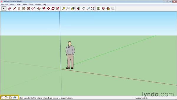 Interface basics: SketchUp 2013 Essential Training