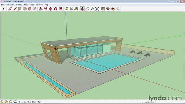 Creating shadows and fog: SketchUp 2013 Essential Training