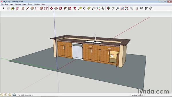 Using the Interact tool: SketchUp 2013 Essential Training