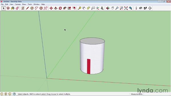 Mapping curved objects: SketchUp 2013 Essential Training