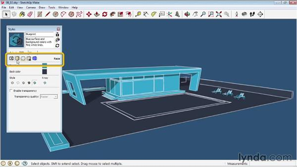 Creating styles: SketchUp 2013 Essential Training