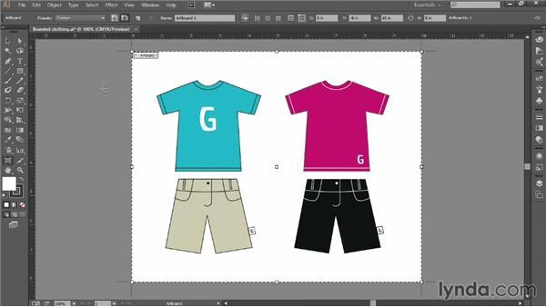 Adding and modifying artboards: Introducing Illustrator