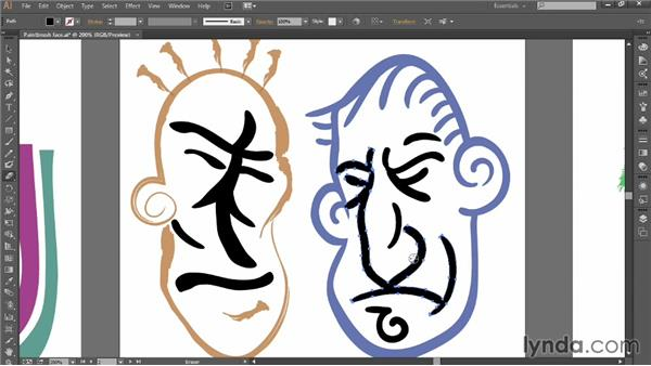Painting with the Blob Brush and Eraser: Introducing Illustrator