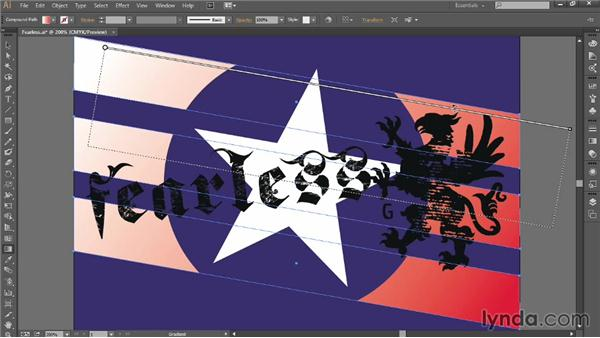 Applying linear and radial gradients: Introducing Illustrator