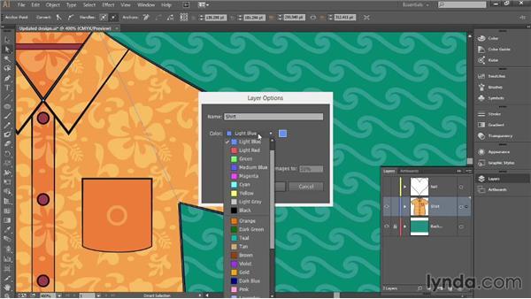 Adjusting control handles: Introducing Illustrator