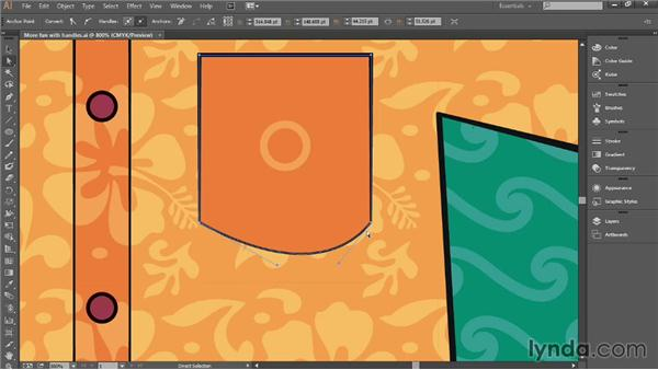 Dragging curved segments: Introducing Illustrator