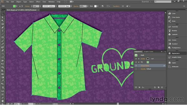 Applying drop shadows: Introducing Illustrator