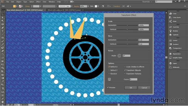 Using the Transform effect: Introducing Illustrator