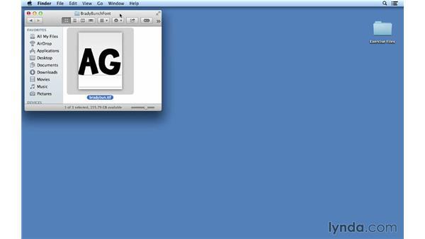 Understanding font conflicts: Font Management Essential Training