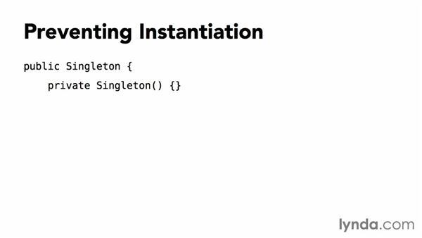 Understanding the classic singleton pattern: Foundations of Programming: Design Patterns