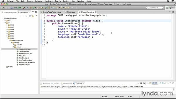 Implementing the Simple Factory idiom: Foundations of Programming: Design Patterns