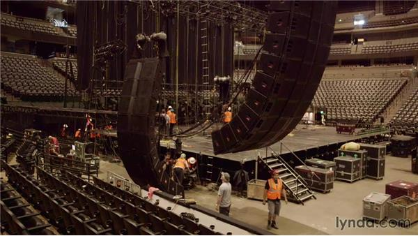 Starting the day with the big picture: Live Sound Engineering Techniques: On Tour with Rush