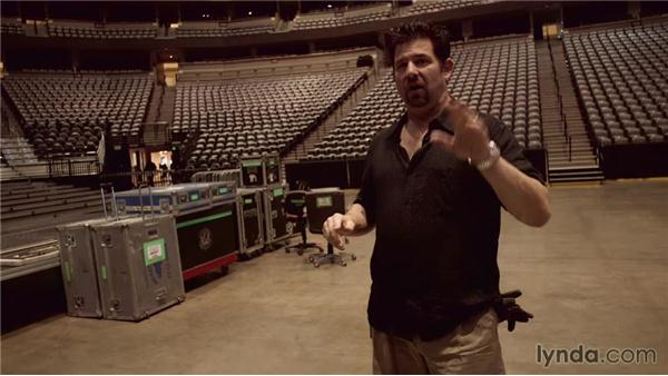 Turning on the PA for the first time: Live Sound Engineering Techniques: On Tour with Rush