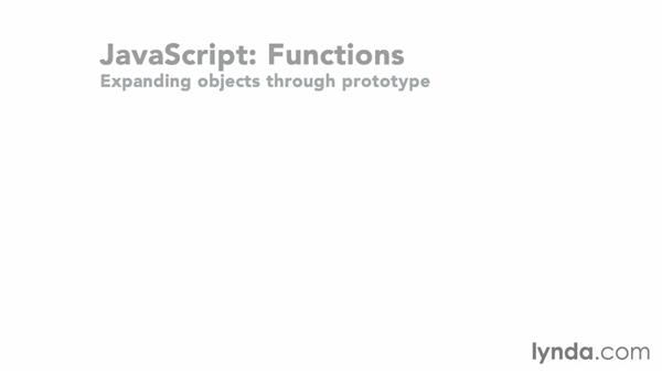 Expanding functionality through prototype: JavaScript: Functions