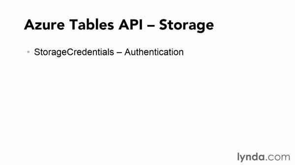 Understanding the Azure Tables API: Using Windows Azure with Windows Store Apps