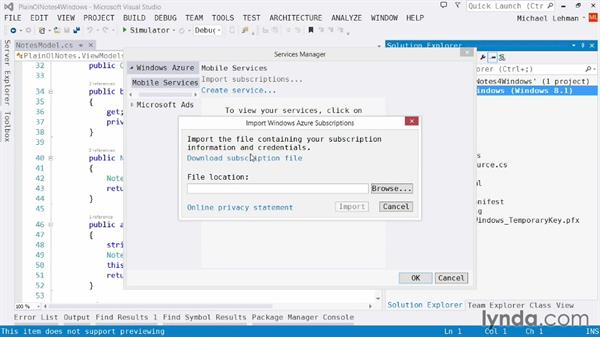 Understanding the Azure Mobile Services API: Using Windows Azure with Windows Store Apps