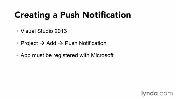 Understanding the Azure Push Notification API: Using Windows Azure with Windows Store Apps