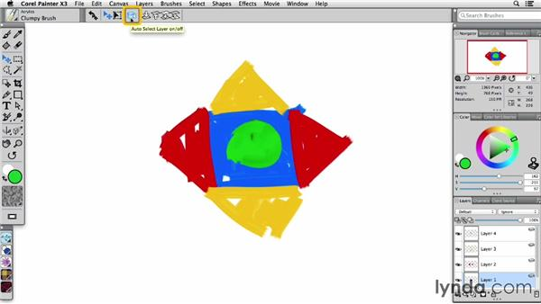 Understanding the flexibility of layers: Painter X3 Essential Training