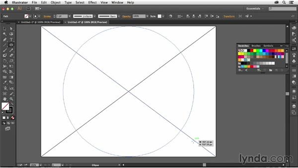 How to create diagonal guides in Illustrator: Creative Quick Tips