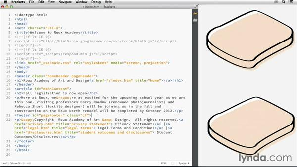 Structuring HTML: Web Technology Fundamentals