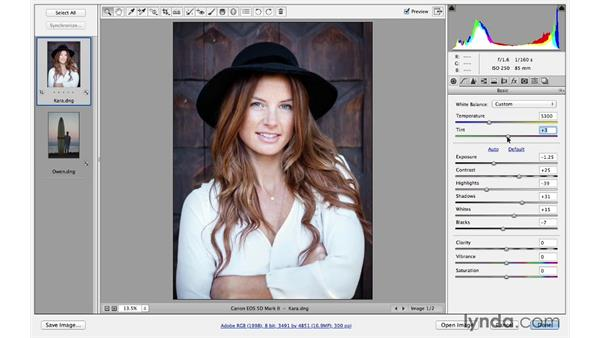 Correcting under- and overexposure: Photoshop for Photographers: Lighting Effects
