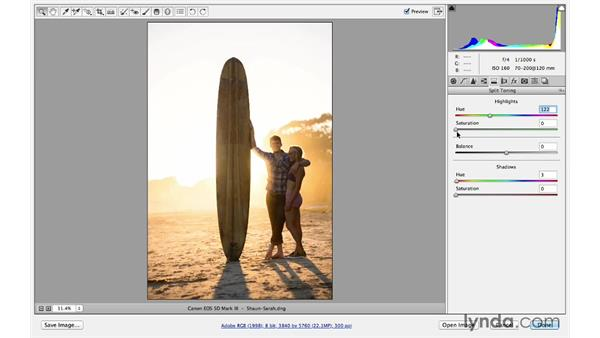 Enhancing the quality and color of light: Photoshop for Photographers: Lighting Effects