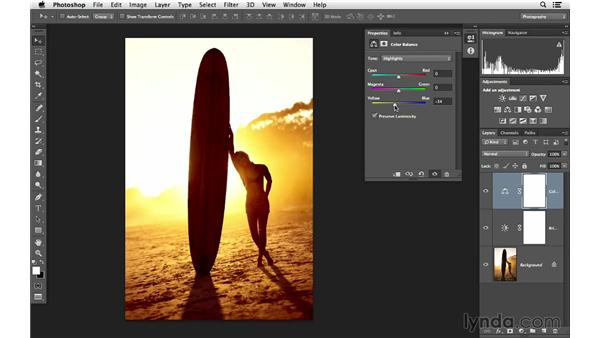 Improving the color of light: Photoshop for Photographers: Lighting Effects