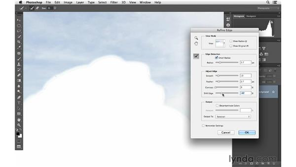 Darkening the sky with Quick Select and Curves: Photoshop for Photographers: Lighting Effects