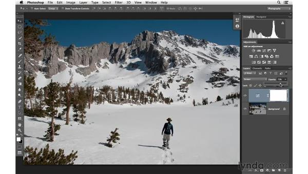 Using Screen blending to fix underexposure: Photoshop for Photographers: Lighting Effects