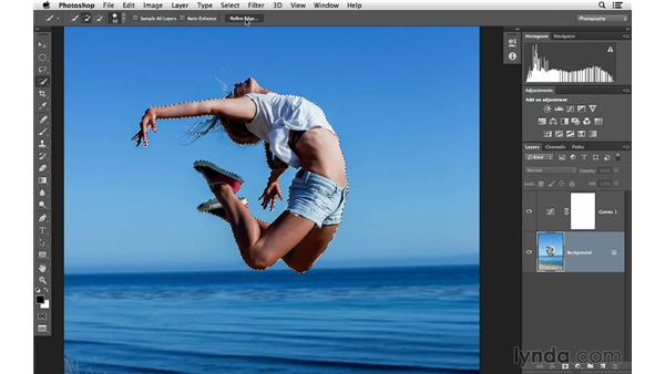 Using Multiply blending to fix overexposure: Photoshop for Photographers: Lighting Effects