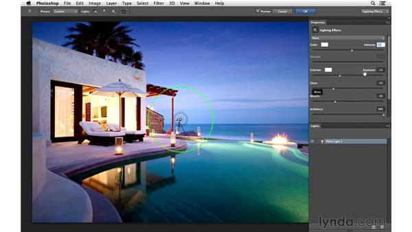 Introducing Lighting Effects: Photoshop for Photographers: Lighting Effects