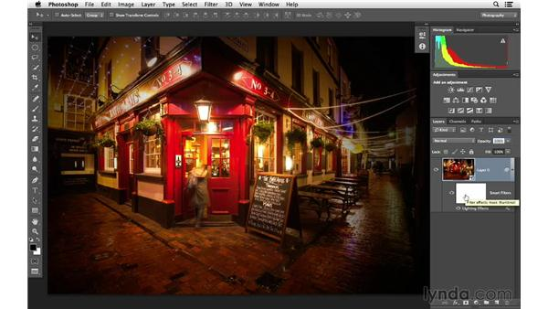 Working with Smart Objects: Photoshop for Photographers: Lighting Effects