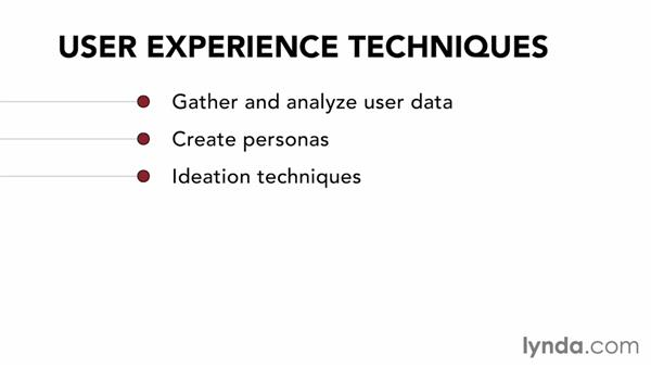 Welcome: UX Design Techniques: Creating Personas