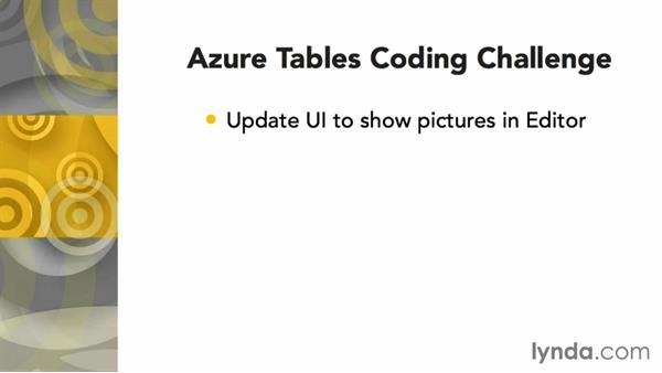 Challenge: Downloading a blob to the UI: Using Windows Azure with Windows Phone 8