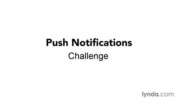 Challenge: Enhancing the push notification: Using Windows Azure with Windows Phone 8