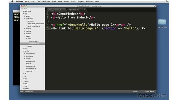 Links: Ruby on Rails 4 Essential Training