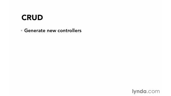 Basic CRUD: Ruby on Rails 4 Essential Training