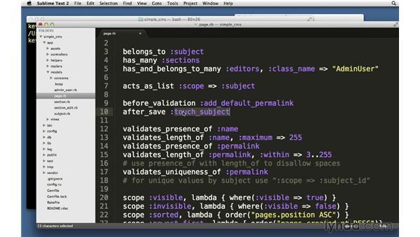 ActiveRecord callbacks: Ruby on Rails 4 Essential Training