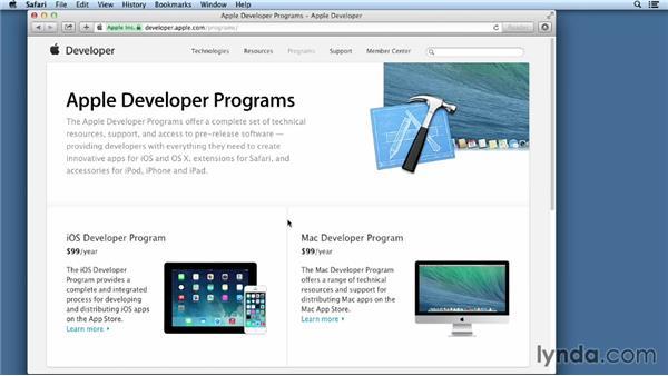 Joining the iOS Developer Program: iOS App Development Essential Training