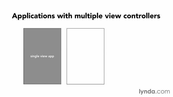 Introduction to multiple-view applications: iOS App Development Essential Training