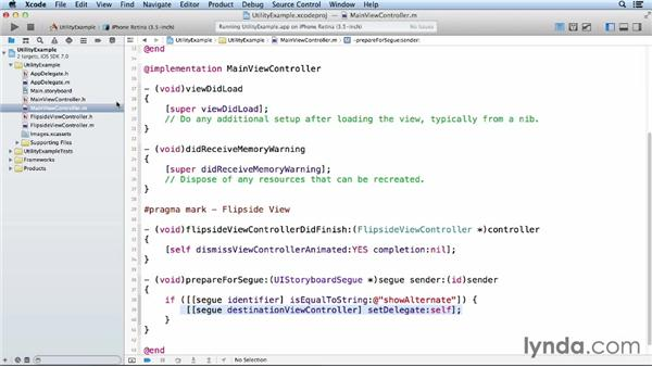 Deconstructing a utility app: iOS App Development Essential Training