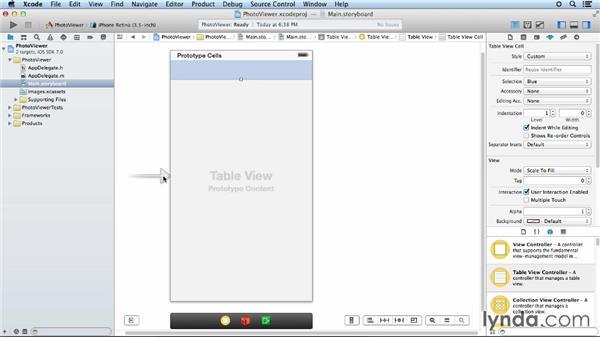 Step one: Passing data between scenes: iOS App Development Essential Training