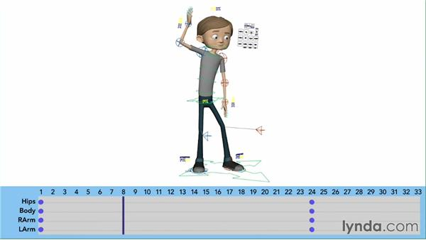 Timing the blocking pass: Character Animation: Basics
