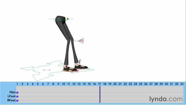 Basic leg placement: Character Animation: Basics