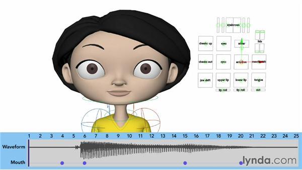 Animating vowel phonemes: A, E, and I: Character Animation: Basics