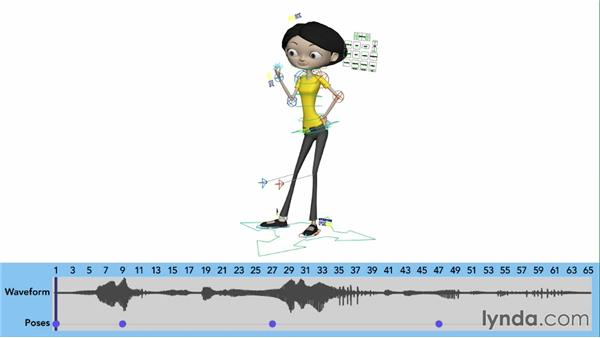 Timing poses and adding holds: Character Animation: Basics